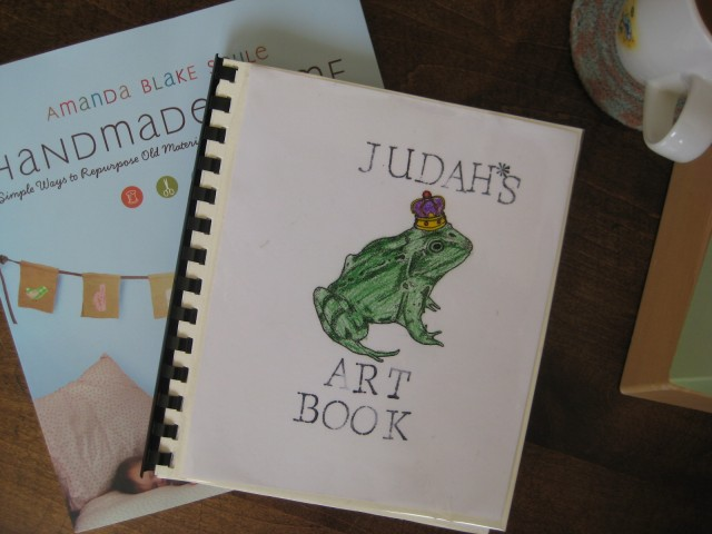 judah's art book