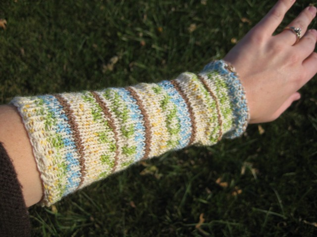 one wristwarmer